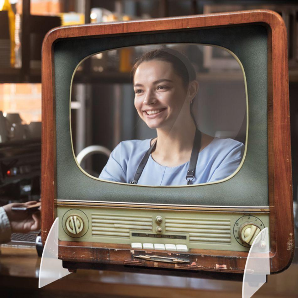 Kuchschot TV 900 x 900 mm